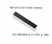 IoT 824~960 MHz and 2.4 GHz and 5.2~5.8 GHz SMD Linear antenna