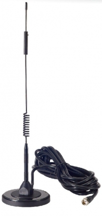 Magnetic Mount Antenna, GSM/UMTS/4G/LTE, 4dBi, FME F