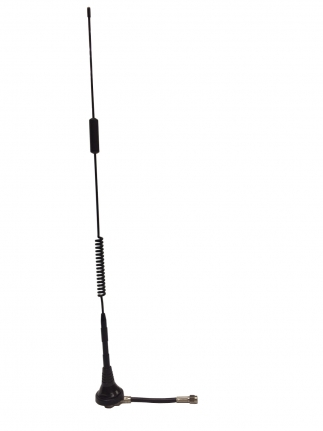 Screw Mount Antenna with 4G/LTE Antenna, 5dBi, cable RG58 with connector SMA M
