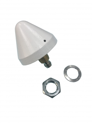 40 dBi, Screw Mount Antenna, GPS Antenna, 1575.42 MHz, R56 series with Connector TNC F