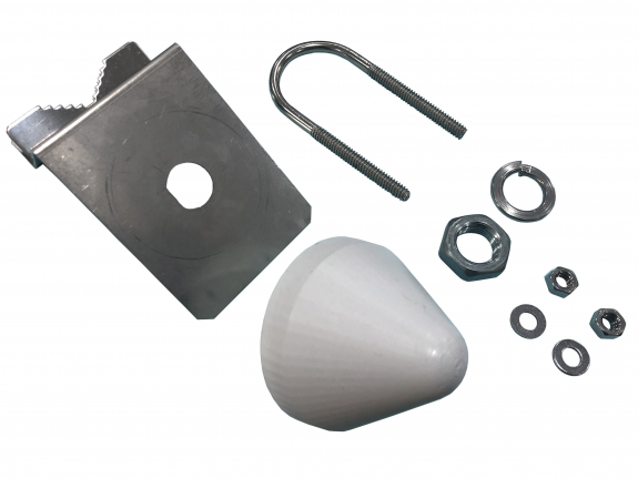 30 dBi, Screw Mount Antenna, GPS Antenna, 1575.42 MHz, R56 series with Connector TNC F