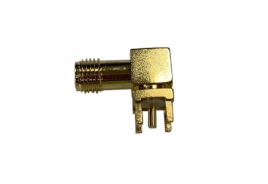 RF Connector, RP SAM F R/A P.C.B Mount