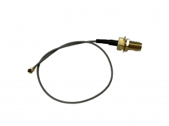 RF Cable Assembly, Micro RF Coaxial Cable, I.PX to Ø1.13 200mm Coaxial Cable to SMA F(BH)