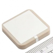 Dielectric Antenna for GPS , 1575.42 MHz, 3 dBi, 25*25*4mm